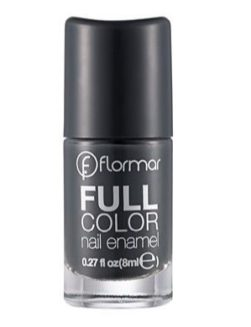 Esmalte Flormar Full color New Rock Cinza