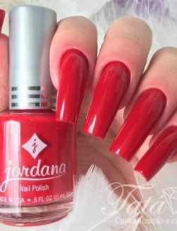 Esmalte Jordana, Holiday Red