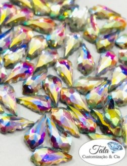 Holy Aurora Boreal 6mm 50pcs